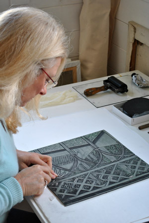 LINOCUT TECHNIQUE | Paintings, Linocuts and Sculpture by